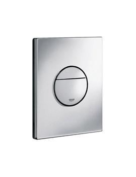 Nova Dual Flush WC Wall Plate Chrome - 38765000