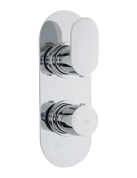 Reign Twin Concealed Thermostatic Shower Valve - REI3410