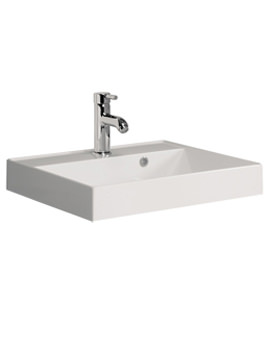 Design 500mm Cast Mineral Marble Vanity Basin With No Taphole