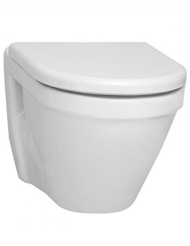 VitrA S50 Wall-Hung WC Pan 52cm With Seat - 5318L003-0075