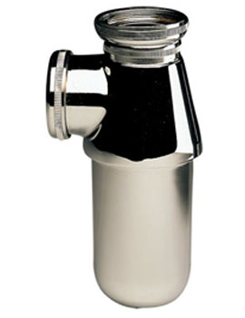 1 And Quarter Inch P Outlet Bottle Trap - WF8463CP