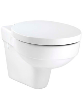 Twyford Encore Wall Hung WC Pan 560mm - ER1738WH