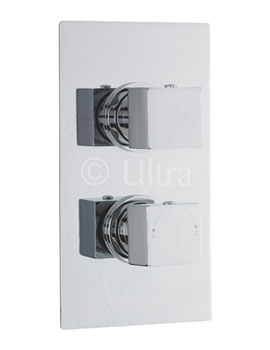 Related Ultra Volt Twin Concealed Thermostatic Shower Valve With Diverter
