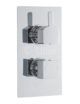 Related Ultra Falls Twin Concealed Thermostatic Shower Valve With Diverter