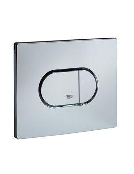 Arena Horizontal Print Flush Plate Chrome - 38858000
