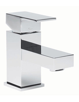 Tavistock Index Mini Basin Mixer Tap With Click Waste - TND61