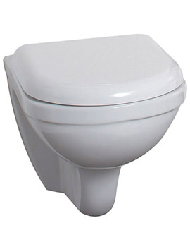 Phoenix Emma 380mm Wall Hung WC Pan With Soft Close Seat Cover