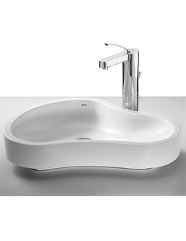 Related Roca Urbi 8 On Countertop Basin 550mm Wide - 32722A000