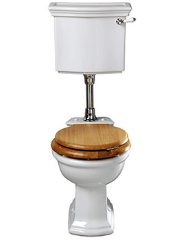 Firenze WC Pan And Low Level Cistern - FI1WC01030