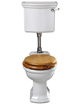 Bergier WC Pan And Low Level Cistern - BE1WC01030
