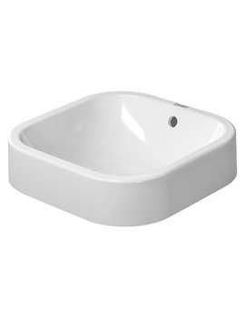 Related Duravit Happy D2 White 400mm Grinded Wash Bowl - 2314400000