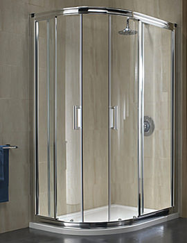 Twyford Hydr8 Offset Quadrant Shower Enclosure 900 x 800mm