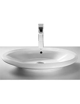 Urbi 6 On Countertop Basin 640mm x 430mm - 32722B000