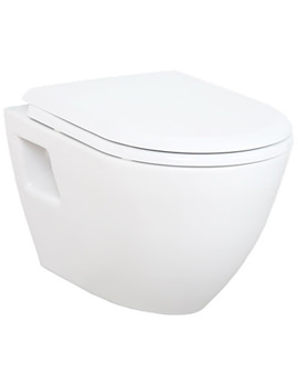 Beo Wall Hung WC Pan With Soft Close Seat And Cover - TP325