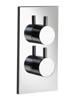 Ivo Single Outlet Dual Control Concealed Thermostatic Shower Valve