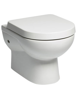 Tavistock Ion Wall Hung WC Pan With Soft Close Toilet Seat