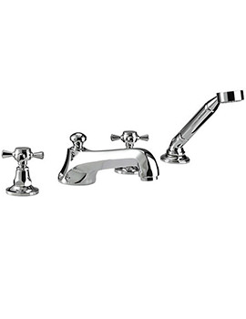 Cou 4 Hole Bath Filler Tap And Handset Kit - ZXT6012100
