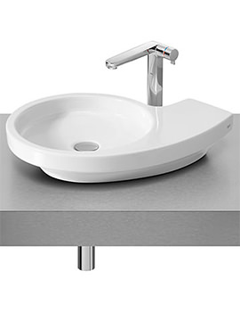 Related Roca Urbi 3 On Countertop Basin 580mm x 400mm - 327228000