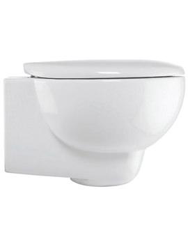 Bauhaus Wisp Wall Hung WC 385 x 530mm White