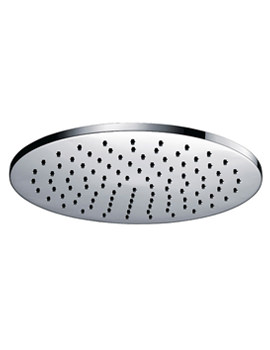Deluxe Round Brass Shower Head 400mm - KI071C