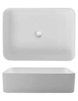 Gallery Santa Fe 550mm Countertop Basin Without Overflow