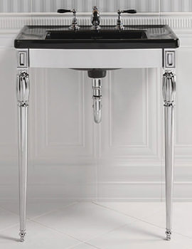 Troon Chrome Stand And Radcliffe Vanity Basin - ZXBS1100100