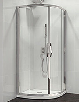 Related Beo Classic Double Door Quadrant Shower Enclosure 1000 x 1000mm