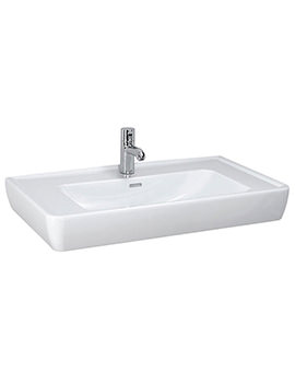 Pro A Countertop Washbasin 850 x 480mm - 8.1395.6.000.109.1