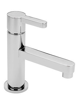 Slab Mini Mono Basin Mixer Tap Chrome - 48002