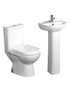Tavistock Micra Basin And WC Set - SB145 - P100