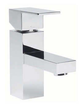 Index Basin Mixer Tap With Click Waste - TND11
