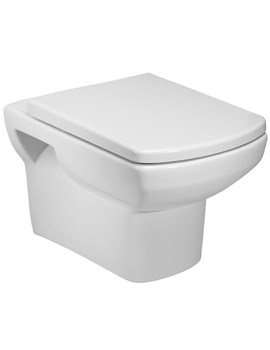 Tavistock Vibe Wall Hung WC Pan And Soft Close Seat