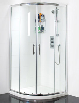 Related Phoenix Form 1200x900mm LH Offset Twin Door Shower Quadrant