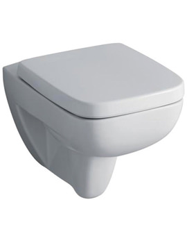Twyford Galerie Plan Flushwise Wall Hung WC Pan 540mm - GL1738WH