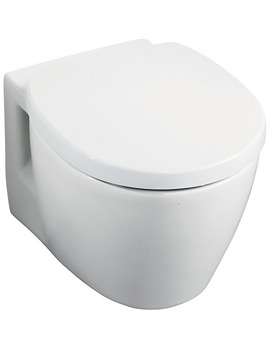 Ideal Standard Concept Space Compact Wall Mounted WC Pan 485mm