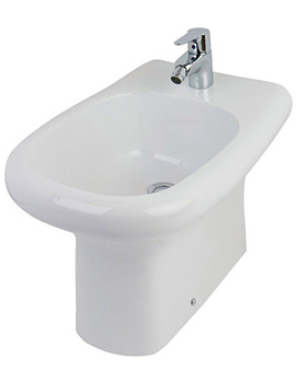 Compact Special Needs Back-To-Wall Bidet 545mm - GBTWBIDWO