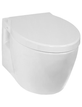 Sunrise Wall Hung WC Pan With Toilet Seat - 5384B003-0075