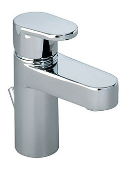 Related Roper Rhodes Stream Mini Basin Mixer Tap With Click Waste - T776002