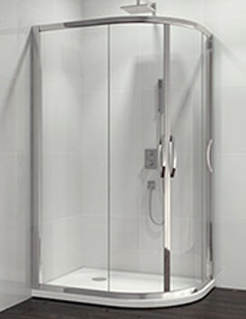 Related Beo Classic Double Door Offset Quadrant Shower Enclosure 900 x 760mm