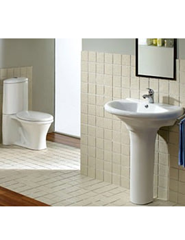 Aqva Ancona Wash room 4 piece Suite - AQVA-LMK916+LMK301