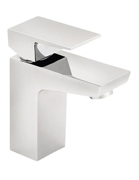 Wilde Mono Basin Mixer Tap With Click Clack Waste Chrome