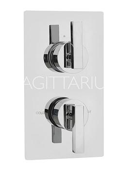 Related Sagittarius Design Concealed Thermostatic Shower Valve - DE-172-C