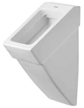 Vero White Urinal With Concealed Inlet 295 x 320mm