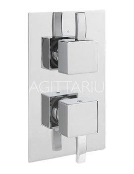 Related Sagittarius Arke Concealed Thermostatic Shower Valve