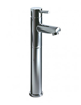 Storm Tall Basin Mixer Tap With Click  Waste