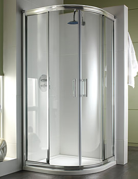 Twyford Hydr8 Quadrant Shower Enclosure 900mm