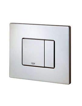 Cosmo Dual Flush WC Wall Plate Stainless Steel - 38776SD0