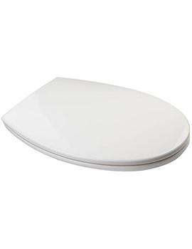 Croydex White Polypropylene Toilet Seat - WL532122