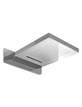 Noken Essence C Wall Mounted Rain And Cascade Shower Head