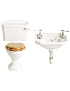 Granley Traditional Cloakroom Suite - 3